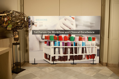 1st Forum on Workflow and Clinical Excellence en el Hospital Clinic de Barcelona- segunda jornada y cena-