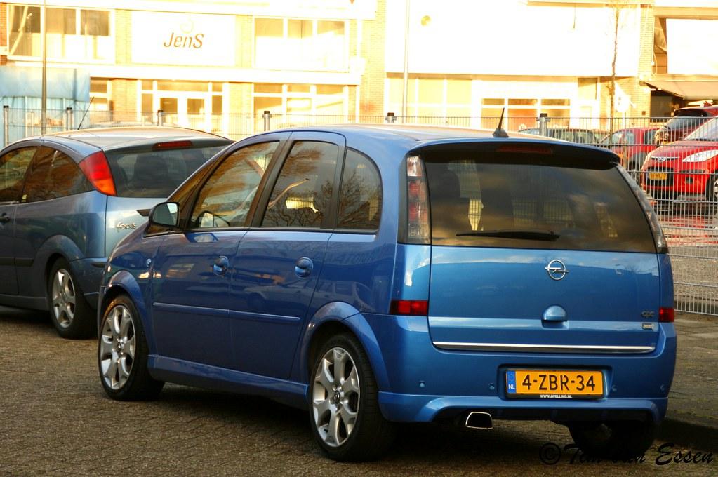 Opel Meriva Opc Date Of First Registration 04 05 2006