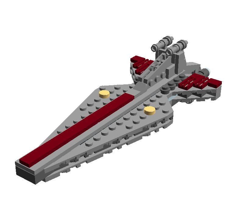 Star Wars Mini Spacebattle Venator Class Destroyer Ldd B Flickr