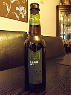 Metropolitan Brewing Co (Greene King for Tesco.). Big Bad Wolf IPA. England