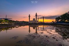 Sunrise at Masjid Tengku Ampuan Jemaah, Shah Alam