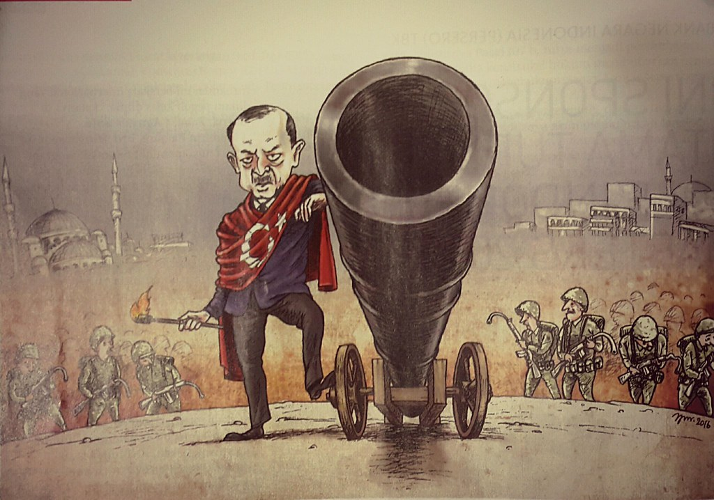 Erdogan after Failed Coup (Tempo, 8-14 Agustus 2016).