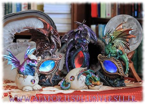 Nouveautés dragon sur la boutique ésotérique Aux Portes de l'Universel