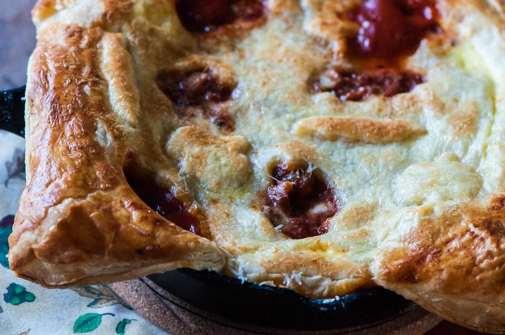 Ghoulish Pizza Pot Pie 4