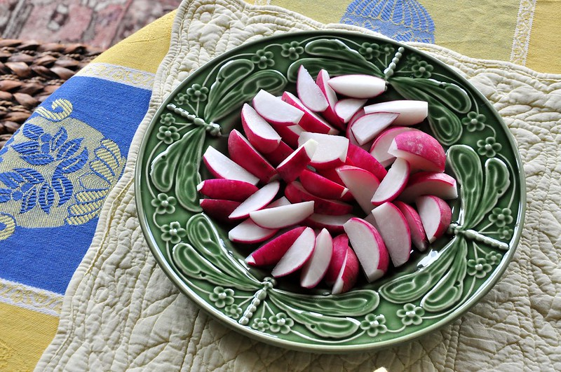 Quartered Radishes