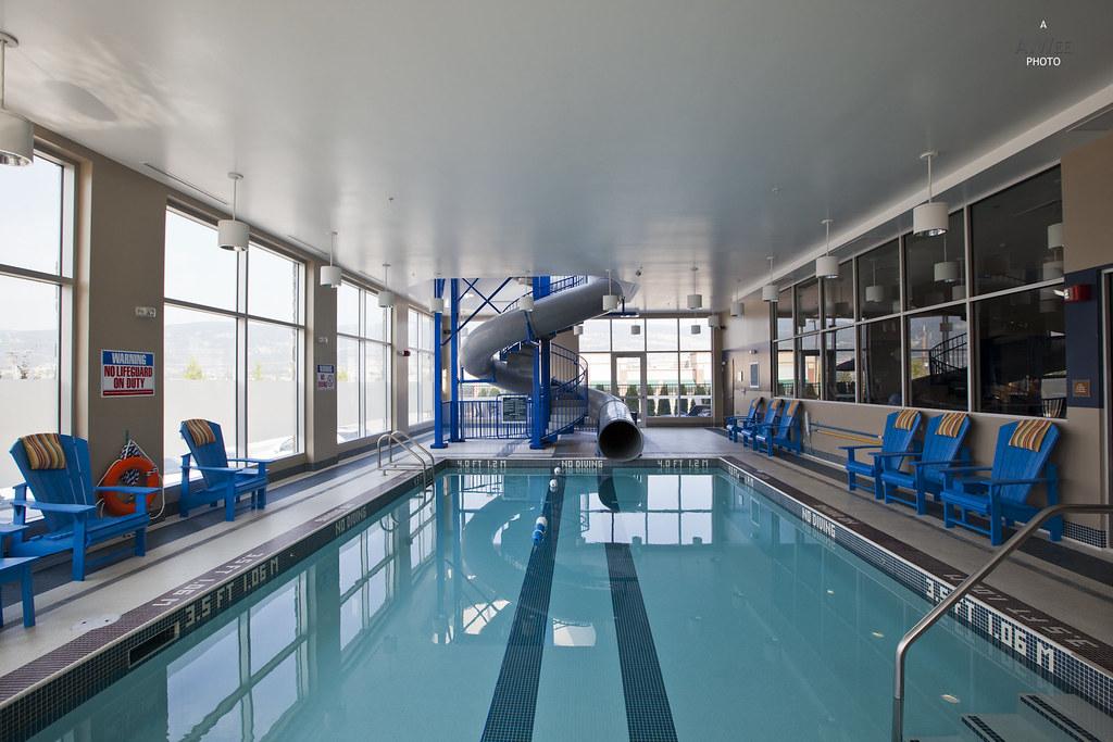 Indoor pool with slide Entry Indoor Swimming Pool With Slide By A Wee Flickr Indoor Swimming Pool With Slide Four Points By Sheraton Atu2026 Flickr