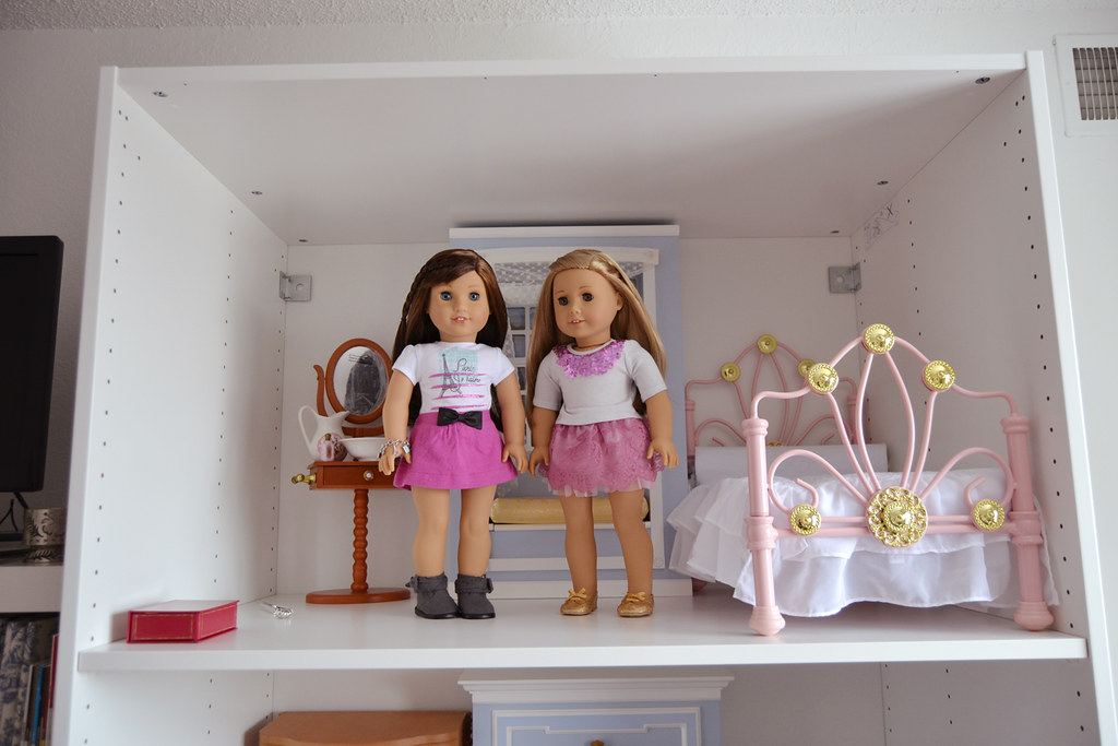 ikea pax dollhouse for american girl dolls | part one of my … | flickr