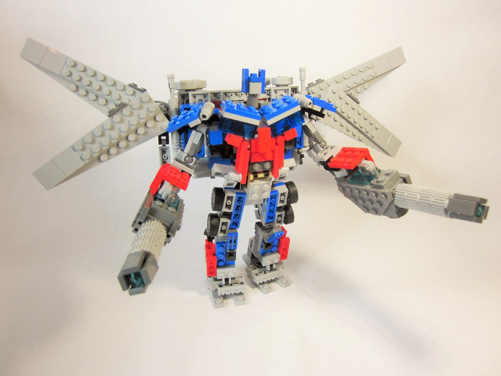 transformers dark of the moon- jetwing optimus prime | flickr