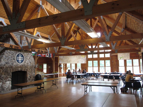 Camp Merrowvista dining hall, Tuftonboro, New Hampshire ...