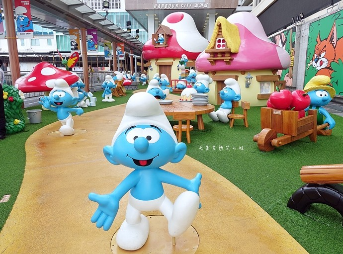 1 香港 海港城 Harbourcity 藍精靈 十分勁