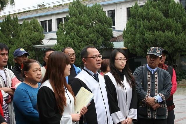 期待司法作為捍衛人權的最後一道防線。圖片來源:陳采邑。