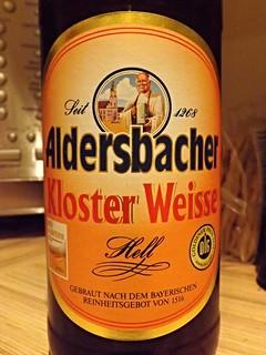 Aldersbacher, Kloster Weisse Hell, Germany