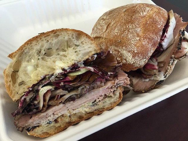 Roast pork sandwich - Trou Normand