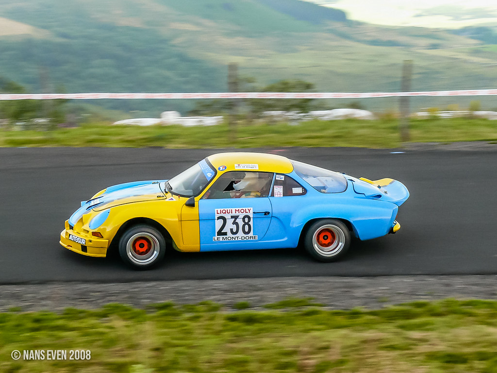 renault alpine a110 alain francais 48 me course de c te flickr. Black Bedroom Furniture Sets. Home Design Ideas