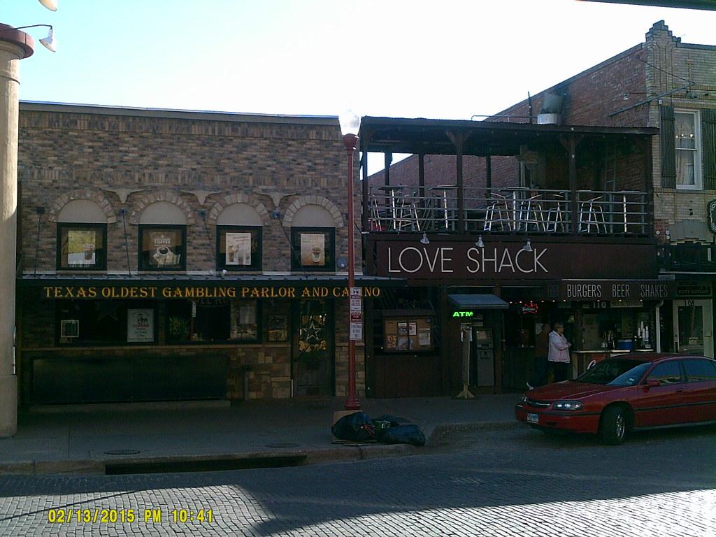The gambling shack