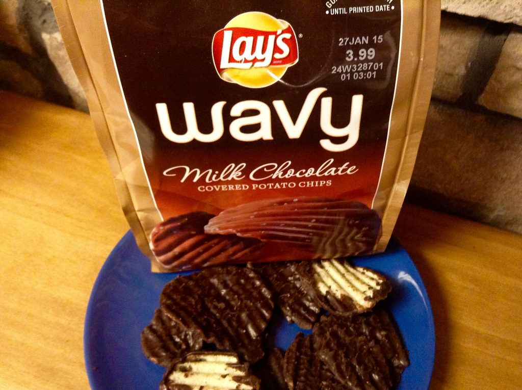 lay s wavy dark chocolate potato chips best chocolate 2017
