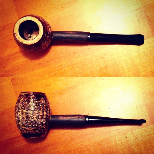 My new Rusticob Missouri Meerschaum Country Gentleman strait corncob pipe.