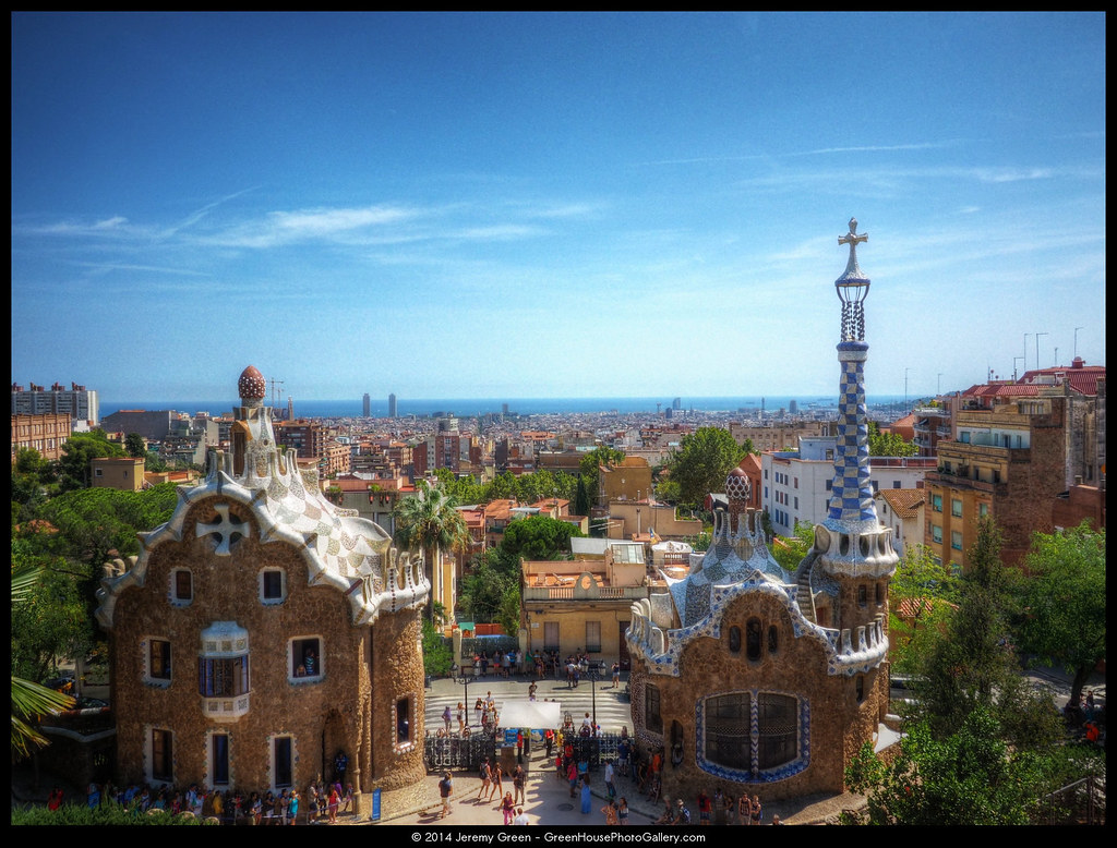 Park Güell  Park Güell was originally designed by Antoni Ga…  Flickr