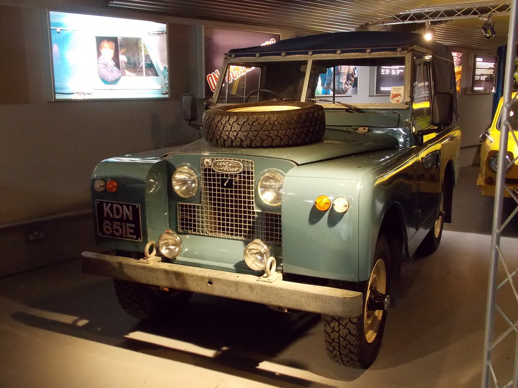1967 Land Rover Series IIA - Heartbeat | Museum info: Heartb… | Flickr