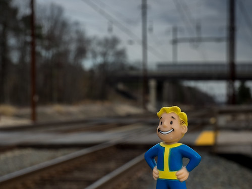 365: Day 2: Vault Dweller on the wrong side of the tracks | by rclatter
