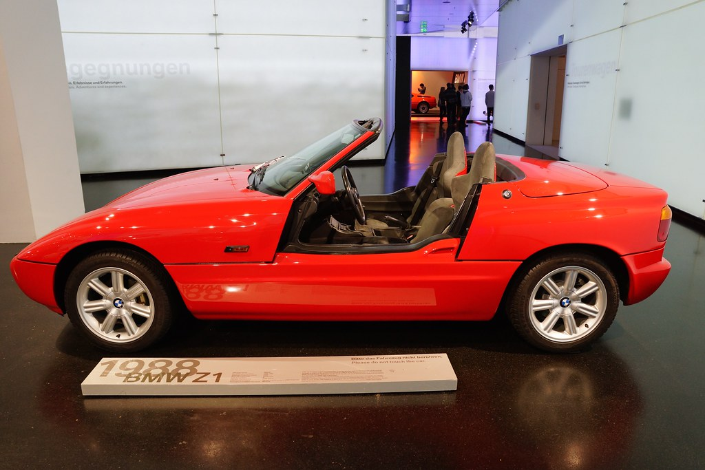 1988 BMW Z1 Roadster at the BMW Museum in Munich, Bavaria,… | Flickr