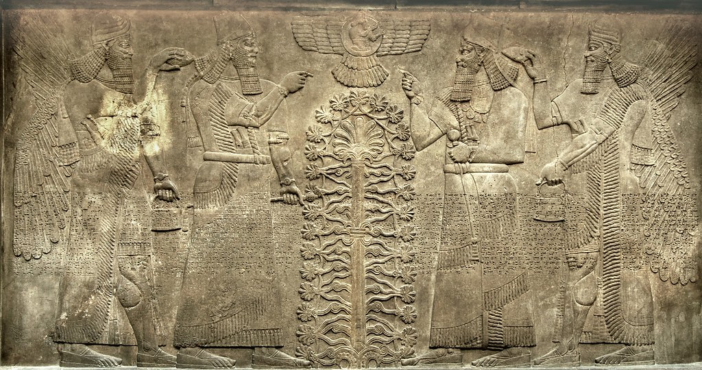 Neo Assyrian Stone Relief C865 Bce North West Palace Ni