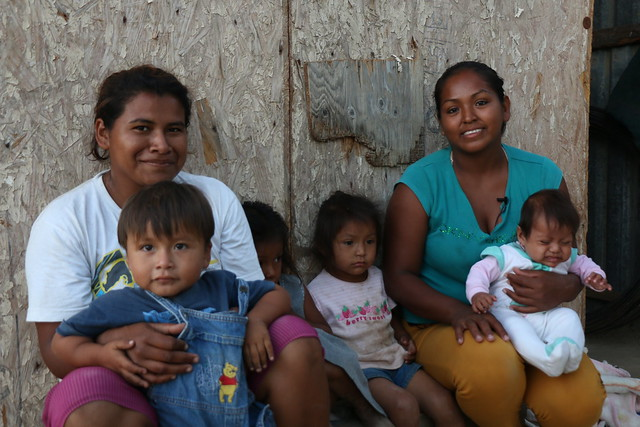 Familia beneficiada
