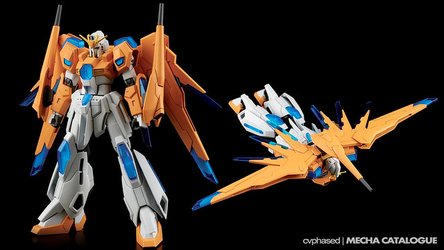 HGBF Scramble Gundam - Colored Prototype Shots