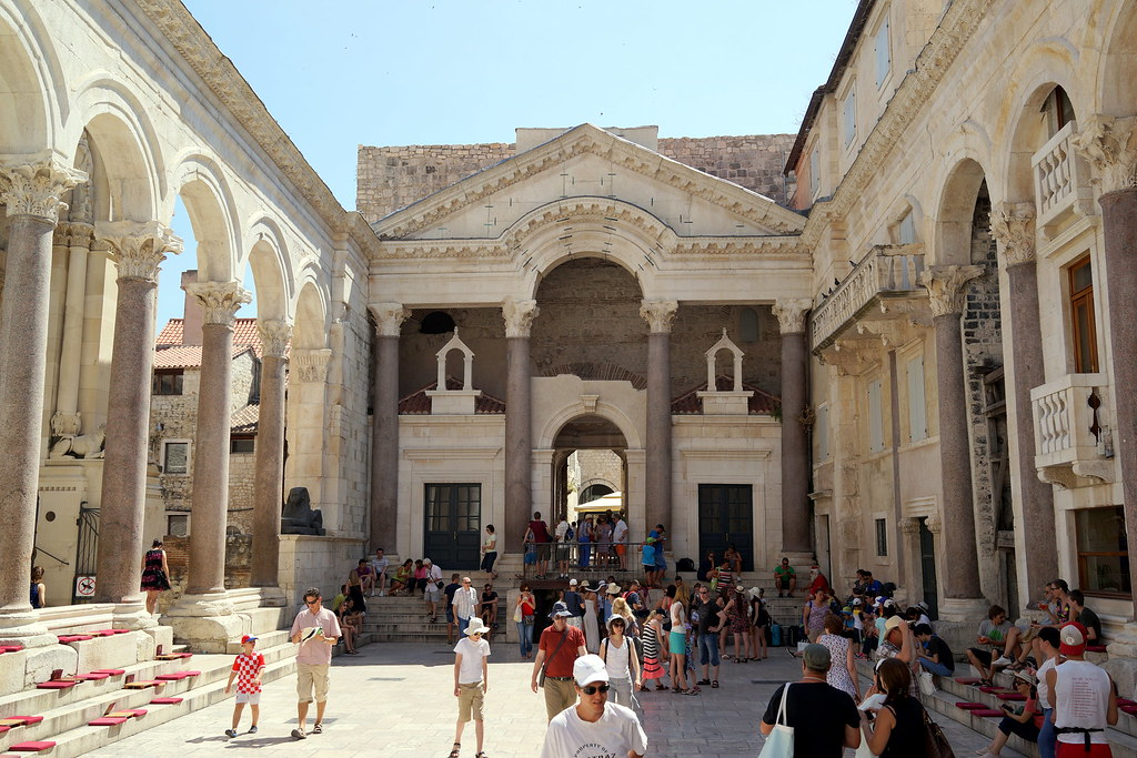 In the heart of Diocletian Palace