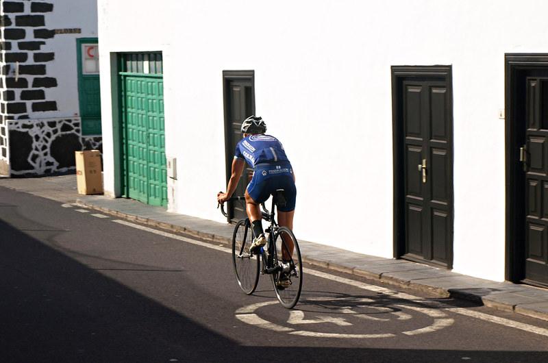 Cyclist, Teguise, Lanzarote