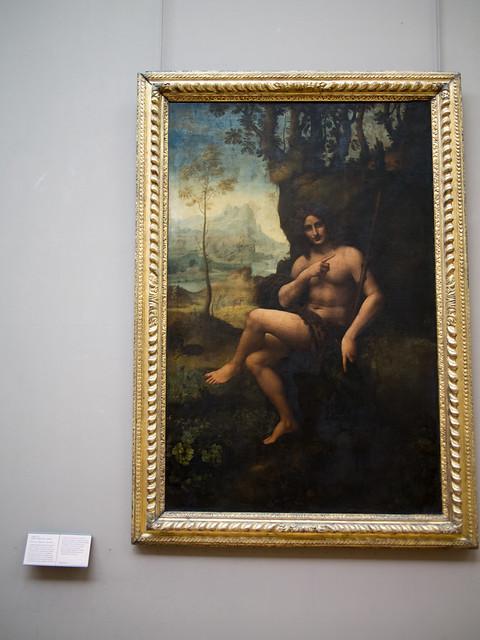 Bacchus - Leonardo da VinciBacchus Da Vinci