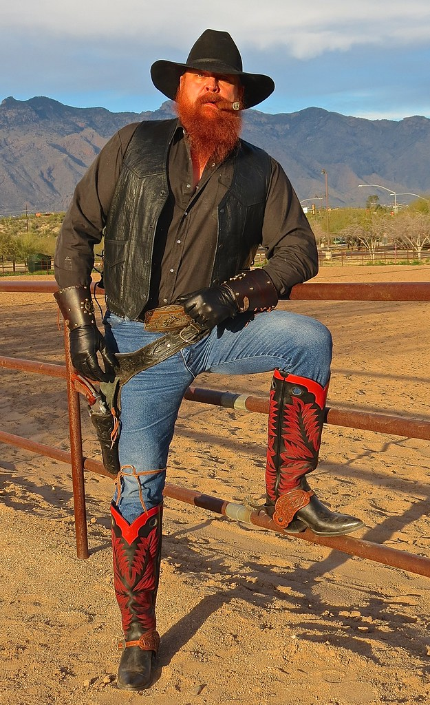 new paul bond boots on fence boot flickr