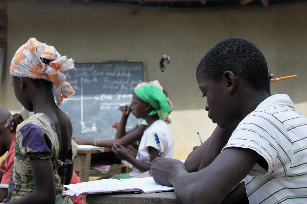 Lessons Continue In Ebola Hit Sierra Leone Even If It S Flickr