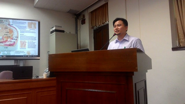 成功大學法律系副教授王毓正發言。攝影:林倩如。