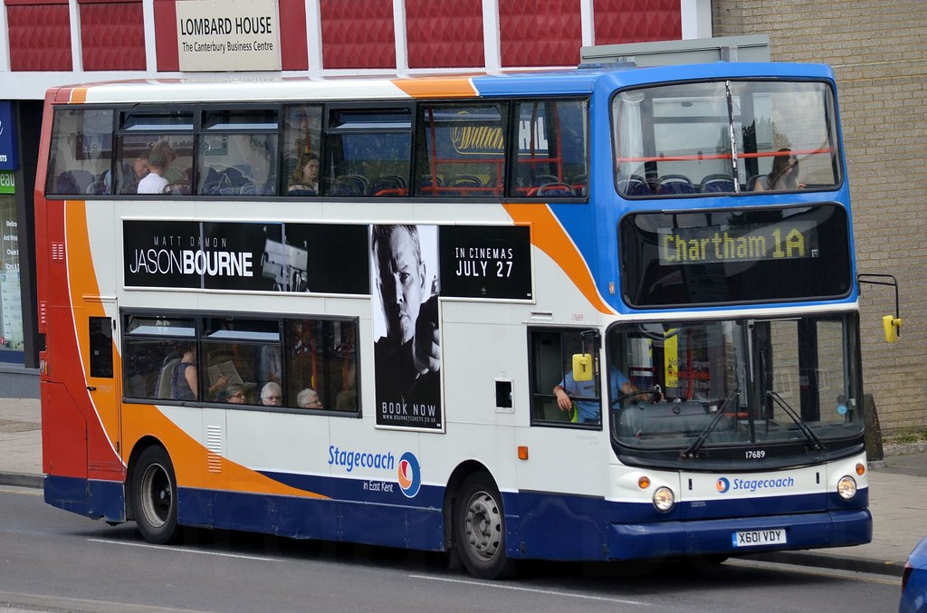 ... 17689 / X601VDY - Dennis Trident/Alexander ALX400 - Stagecoach in East  Kent | by