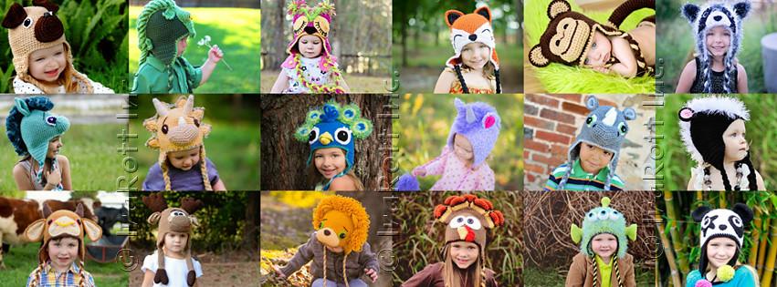 Crochet Animal Hat Patterns By Irarott Irarottcategor Flickr