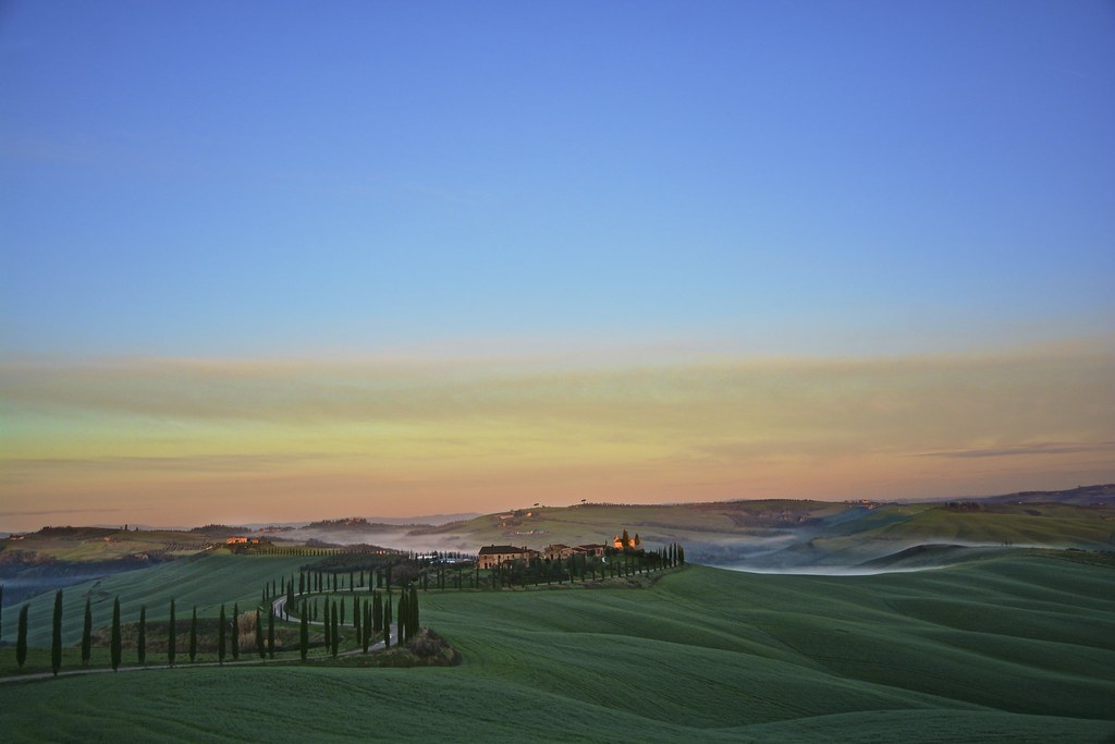 Special morning in Tuscany