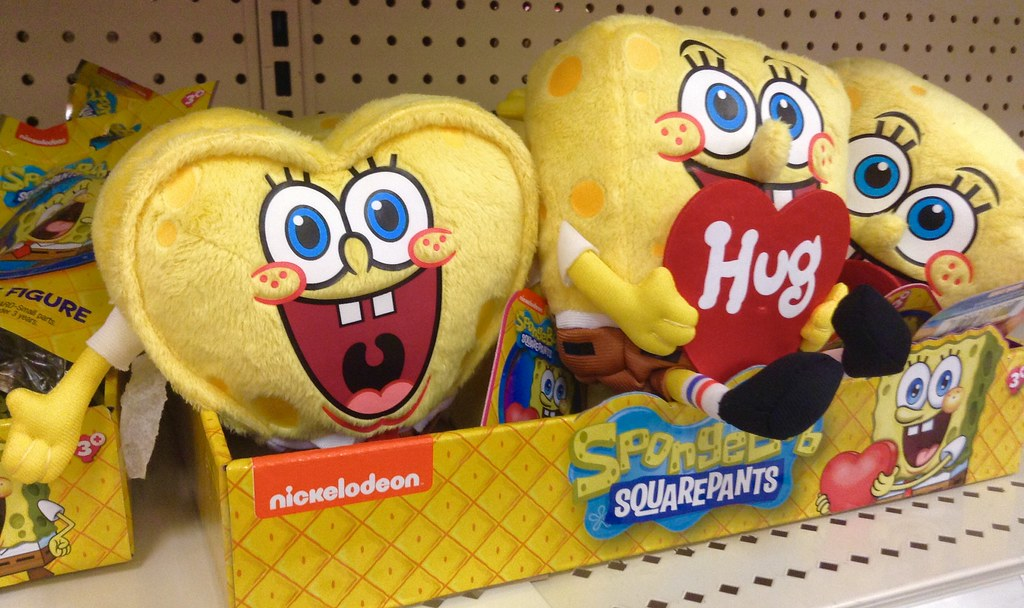 SpongeBob Valentineu0027s Day Plushie | SpongeBob Valentineu0027s Dau2026 | Flickr