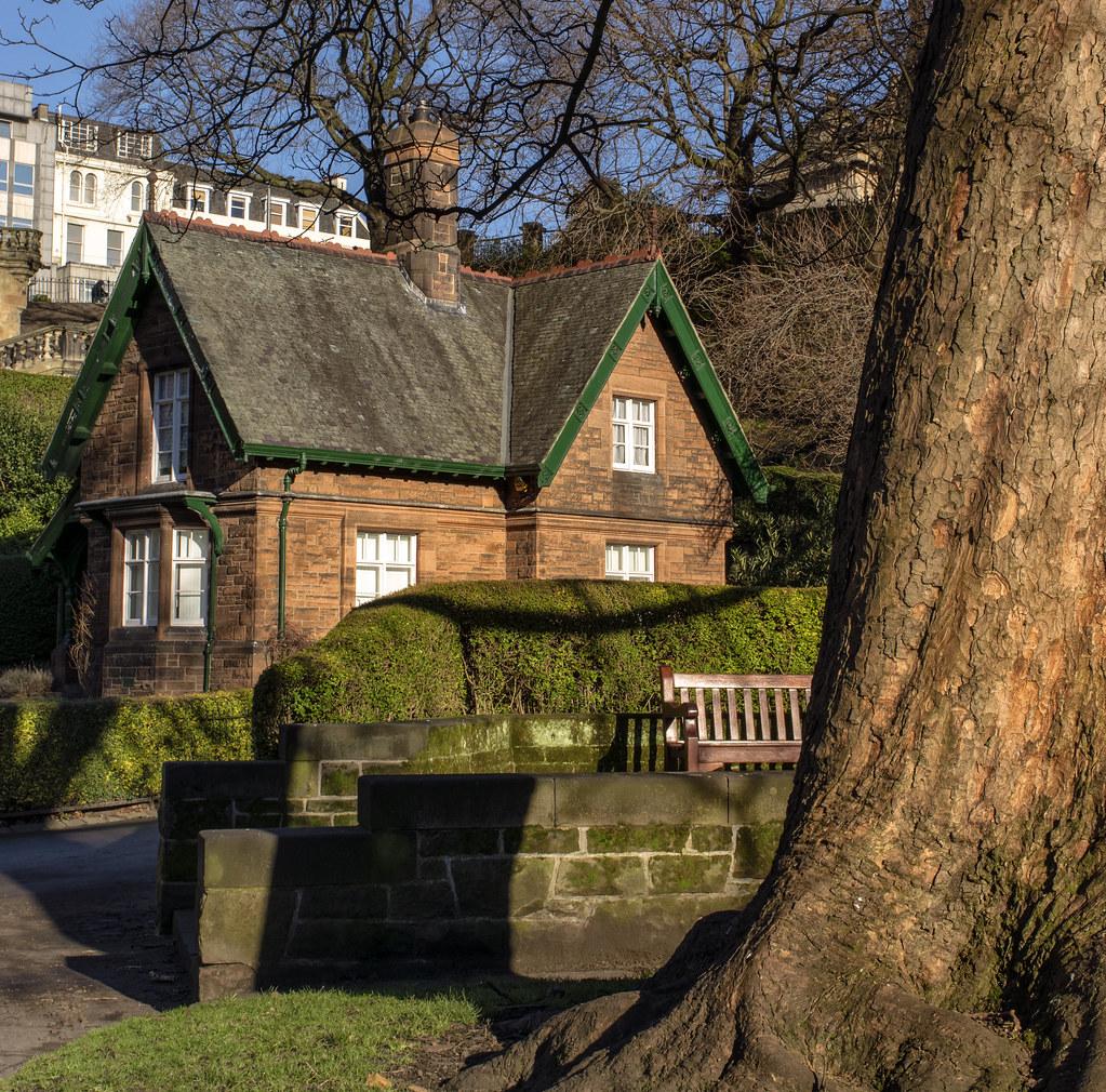 Gardeners Cottage, West Princes Street Gardens, Edinburgh | Flickr