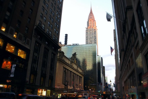 New York, Central Station and Chrysler Building | by kazina crediza