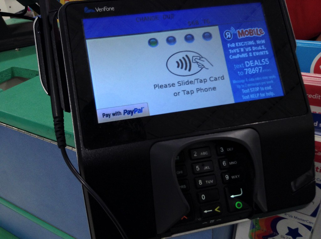 paypal credit card swipe machine