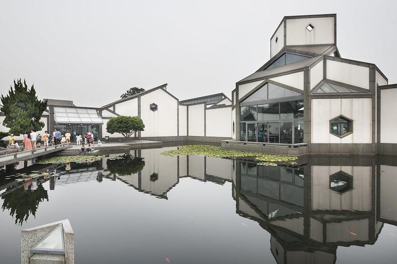 Suzhou Museum by I.M. Pei