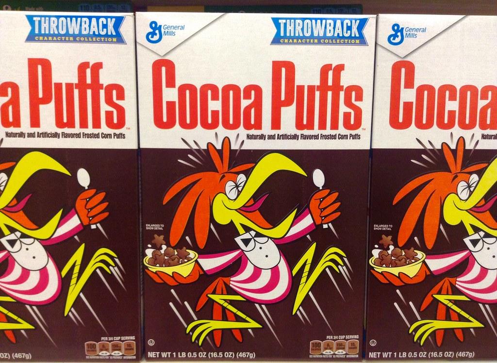 Cocoa Puffs Throwback Retro Box at Target Stores 2/2015, b ...