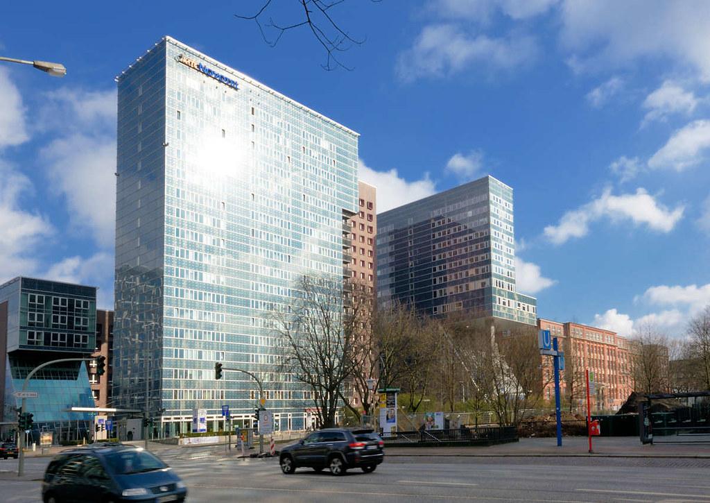 5086 Hochhaus Hotel Am Steindamm Berliner Tor In Hamburg Flickr