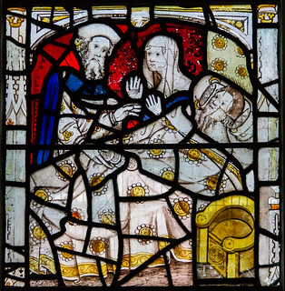 Acts of Mercy window detail, All Saints', York | by Jules & Jenny
