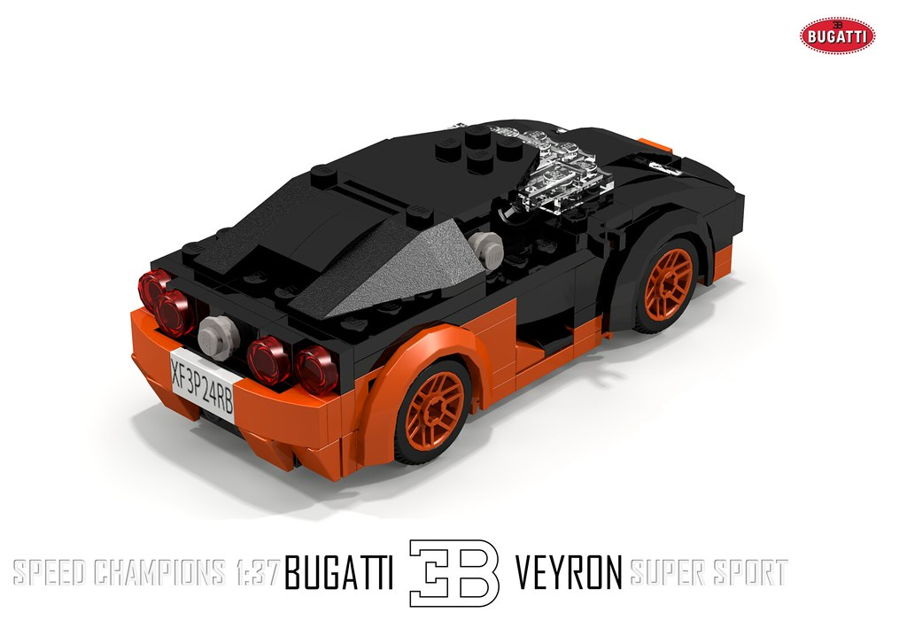 Bugatti Veyron Super Sport Speed Champions 1 37 The