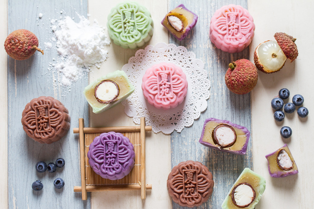 Mooncake Guide: Assorted Mini Snow Skin Martini mooncakes