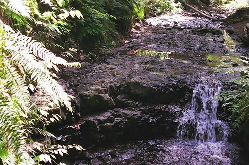 a li'l waterfall