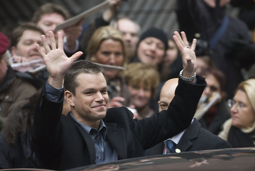 Matt Damon Waving | by theglobalpanorama