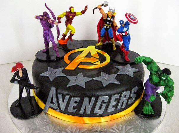 Avengers Birthday Cake Avengers Birthday Cakes